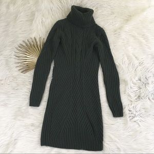 Moda International Turtleneck Sweater Dress
